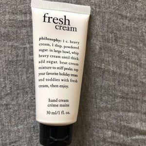 New Philosophy 1 oz Fresh Cream Hand Cream  Lotion